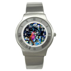 Bird Stainless Steel Watch (Slim)