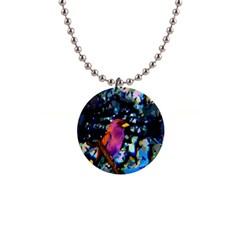 Bird Button Necklace