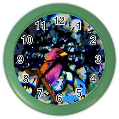 Bird Wall Clock (Color)