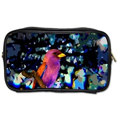 Bird Travel Toiletry Bag (one Side)