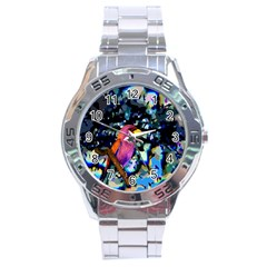 Bird Stainless Steel Watch