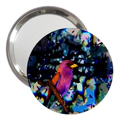 Bird 3  Handbag Mirror
