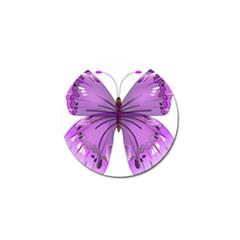 Purple Awareness Butterfly Golf Ball Marker 10 Pack