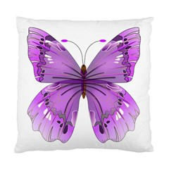 Purple Awareness Butterfly Cushion Case (Single Sided)