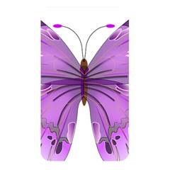 Purple Awareness Butterfly Memory Card Reader (rectangular)