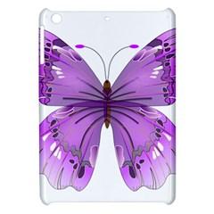 Purple Awareness Butterfly Apple iPad Mini Hardshell Case