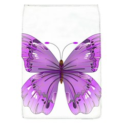 Purple Awareness Butterfly Removable Flap Cover (Large)