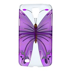 Purple Awareness Butterfly Samsung Galaxy S4 Active (i9295) Hardshell Case