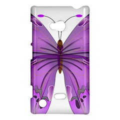 Purple Awareness Butterfly Nokia Lumia 720 Hardshell Case