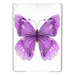 Purple Awareness Butterfly Apple iPad Air Hardshell Case
