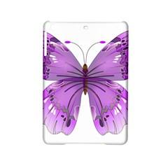 Purple Awareness Butterfly Apple iPad Mini 2 Hardshell Case