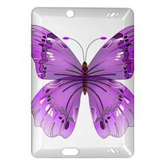 Purple Awareness Butterfly Kindle Fire HD 7  (2nd Gen) Hardshell Case