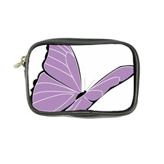 Purple Awareness Butterfly 2 Coin Purse