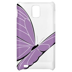 Purple Awareness Butterfly 2 Samsung Infuse 4G Hardshell Case