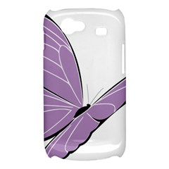 Purple Awareness Butterfly 2 Samsung Galaxy Nexus S i9020 Hardshell Case