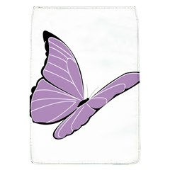 Purple Awareness Butterfly 2 Removable Flap Cover (Large)