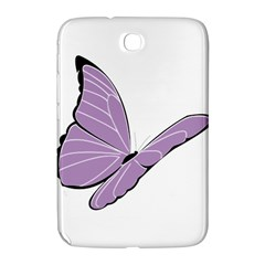 Purple Awareness Butterfly 2 Samsung Galaxy Note 8 0 N5100 Hardshell Case