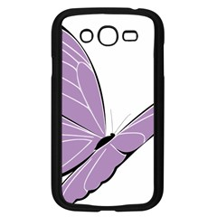 Purple Awareness Butterfly 2 Samsung Galaxy Grand DUOS I9082 Case (Black)