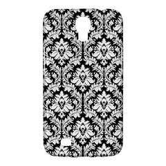 White On Black Damask Samsung Galaxy Mega 6 3  I9200 Hardshell Case