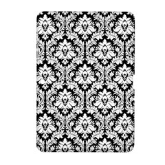 White On Black Damask Samsung Galaxy Tab 2 (10.1 ) P5100 Hardshell Case