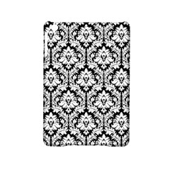 White On Black Damask Apple Ipad Mini 2 Hardshell Case