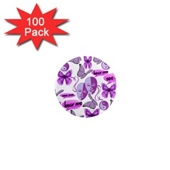 Invisible Illness Collage 1  Mini Button Magnet (100 pack)