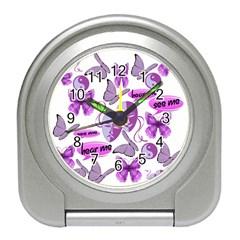 Invisible Illness Collage Desk Alarm Clock