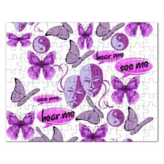 Invisible Illness Collage Jigsaw Puzzle (rectangle)