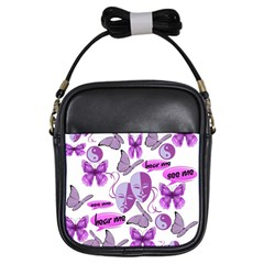 Invisible Illness Collage Girl s Sling Bag