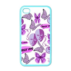 Invisible Illness Collage Apple Iphone 4 Case (color)