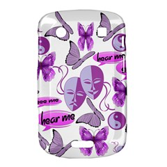 Invisible Illness Collage BlackBerry Bold Touch 9900 9930 Hardshell Case