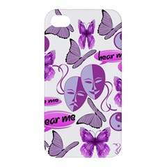 Invisible Illness Collage Apple iPhone 4/4S Premium Hardshell Case