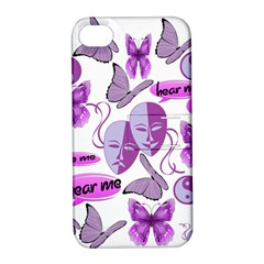 Invisible Illness Collage Apple iPhone 4/4S Hardshell Case with Stand