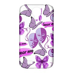 Invisible Illness Collage Samsung Galaxy S4 Classic Hardshell Case (pc+silicone)