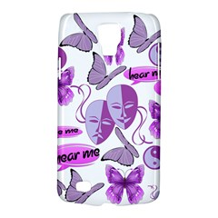 Invisible Illness Collage Samsung Galaxy S4 Active (I9295) Hardshell Case