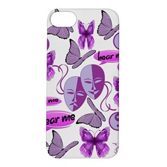 Invisible Illness Collage Apple iPhone 5S Hardshell Case