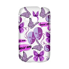 Invisible Illness Collage Samsung Galaxy S6310 Hardshell Case