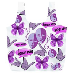 Invisible Illness Collage Reusable Bag (XL)