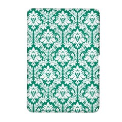 White On Emerald Green Damask Samsung Galaxy Tab 2 (10.1 ) P5100 Hardshell Case