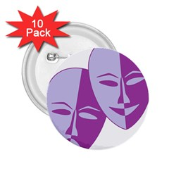 Comedy & Tragedy Of Chronic Pain 2.25  Button (10 pack)