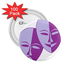 Comedy & Tragedy Of Chronic Pain 2.25  Button (100 pack)