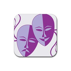 Comedy & Tragedy Of Chronic Pain Drink Coaster (Square)