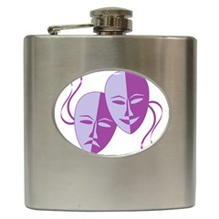 Comedy & Tragedy Of Chronic Pain Hip Flask