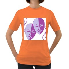 Comedy & Tragedy Of Chronic Pain Women s T Shirt (colored)