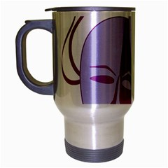 Comedy & Tragedy Of Chronic Pain Travel Mug (Silver Gray)