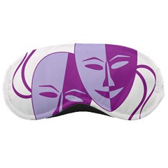 Comedy & Tragedy Of Chronic Pain Sleeping Mask