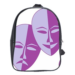 Comedy & Tragedy Of Chronic Pain School Bag (Large)