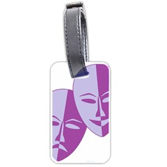 Comedy & Tragedy Of Chronic Pain Luggage Tag (Two Sides)