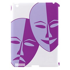 Comedy & Tragedy Of Chronic Pain Apple Ipad 3/4 Hardshell Case (compatible With Smart Cover)