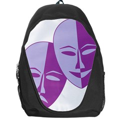 Comedy & Tragedy Of Chronic Pain Backpack Bag